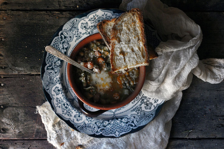 Tuscan Minestrone Soup on Food52
