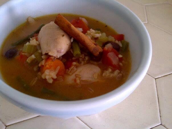 Abuela's Sopa de Avena con Pollo (Grandma's Chicken and Oat Soup)