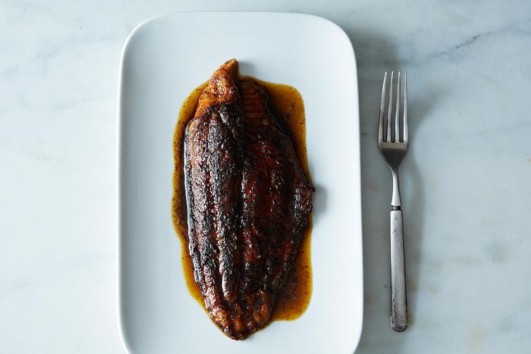 Blackened Tilapia (or Catfish)