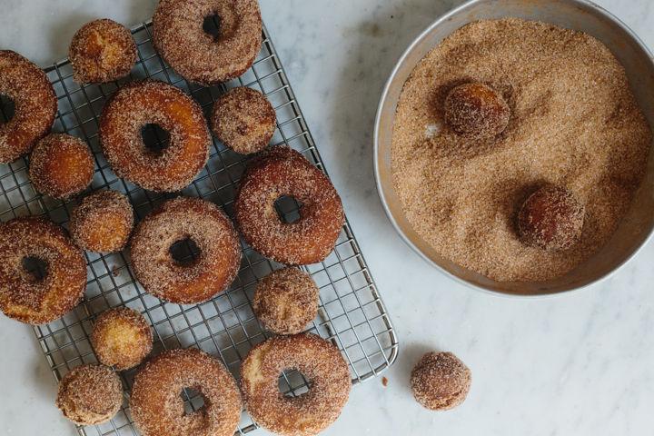 Apple Cider Donuts Recipe on Food52