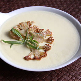 Cauliflower custard