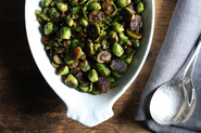 """""""Pot-Stuck"""" Brussels Sprouts"""