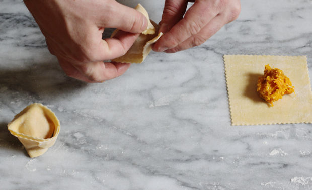 Cappellacci di Zucca (Butternut Squash Cappellacci)