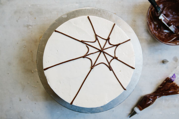 Chocolate Cake with Swiss Meringue Buttercream