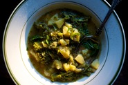 Marcella's Broccoli and Potato Soup