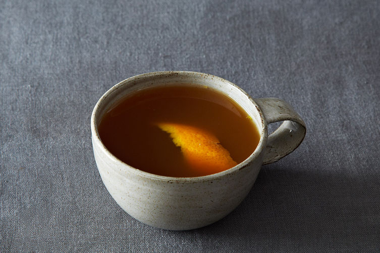 Franklin Stove, a.k.a. Boozy Mulled Cider