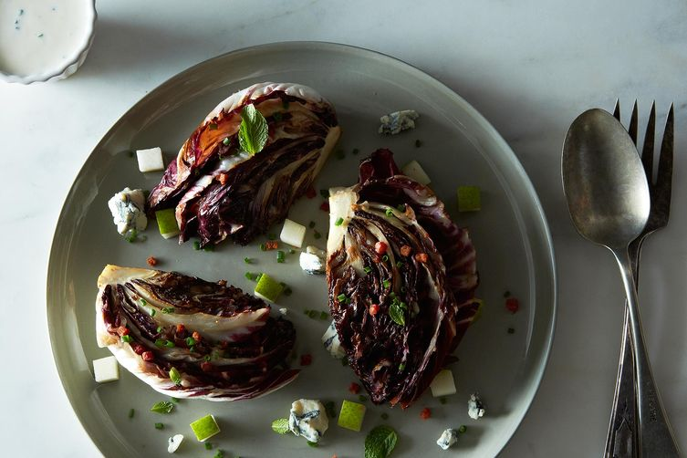 Charred Radicchio Wedge Salad Recipe on Food52