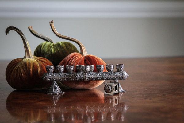 Cranberry Pomegranate Sauce: a Thanksgivukkah Tradition