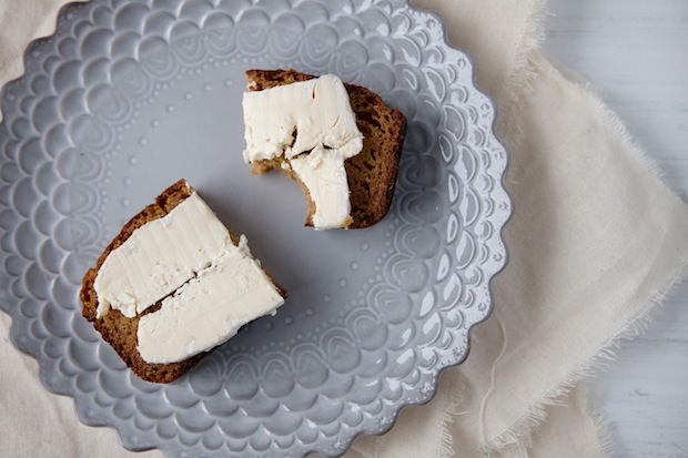 Pumpkin Bread with Brie