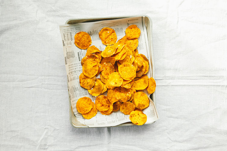 Sweet Potato Chips on Food52