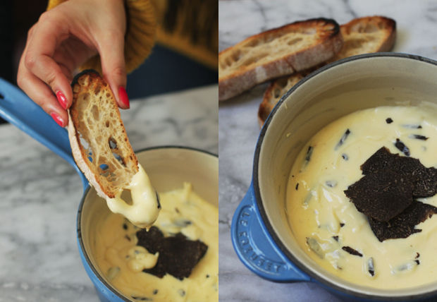 Truffle fondue from Food52