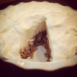 Bourbon Salted Praline Pie