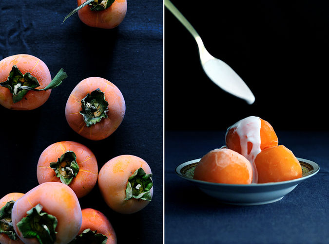 Persimmon Sorbet on Food52