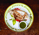 Plaa Phao Kleua (Grilled Salt-Crusted Fish with Chile Dipping Sauce)
