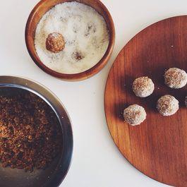 Almond-Cashew-Date Mithai (sweet)