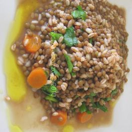 Lentils_orzo_and_olive_oil