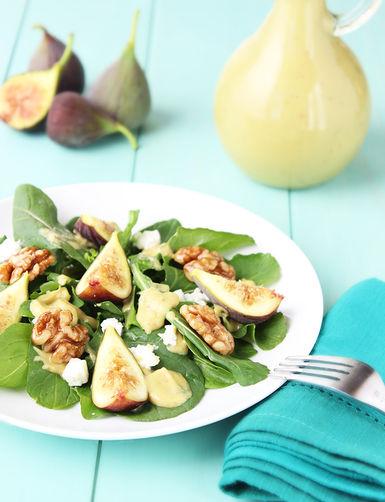 Fresh Fig Arugula Salad