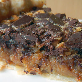 Choc-orange-bourbon-nut-pie