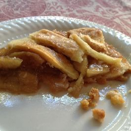 Cider Glazed Caramel Apple Pie