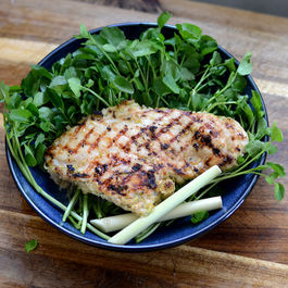Bright & Zesty Grilled Lemongrass Chicken