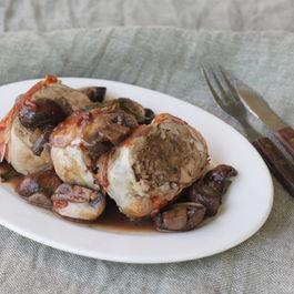 Guinea Fowl with Chestnut Stuffing (Faraona ripiena di castagne)