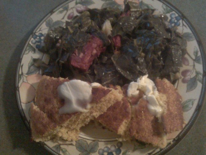 Old-Fashioned Southern Collard Greens
