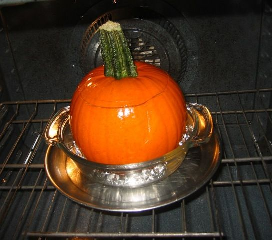 Stuffed & Baked Pumpkin