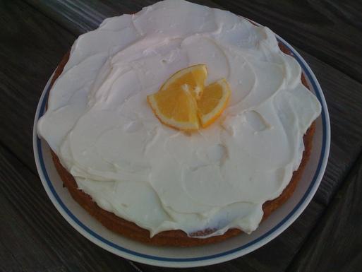 Pioneer-Style Orange Cake