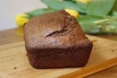 Wake-Up Cocoa Quick Bread