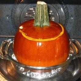 Stuffed & Baked Pumpkin