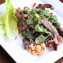 Nam Tok - Thai Waterfall Grilled Beef Salad