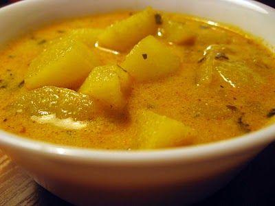 Potato and Yogurt Curry