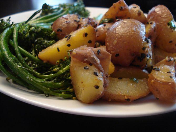 miso horny potatoes