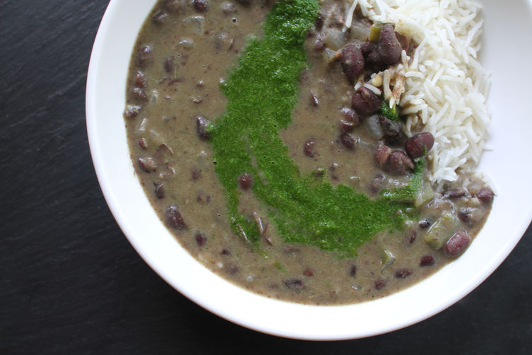 Quick Black Bean Soup from Food52