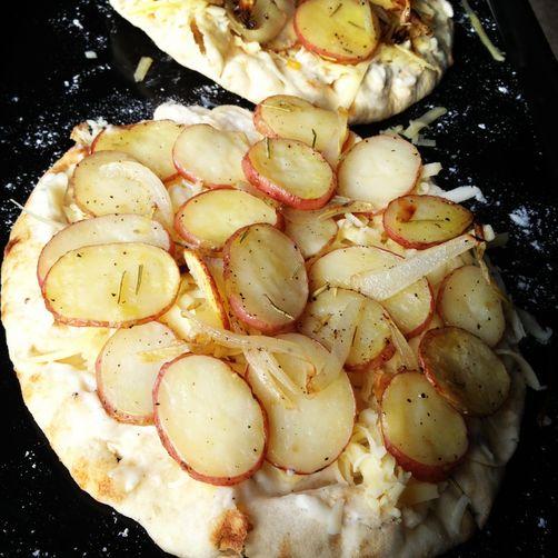Roasted Potato Pizza