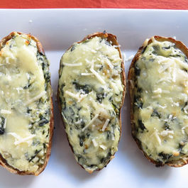 Spinach-artichoke-twice-baked-potatoes