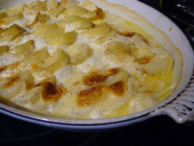 Potato Gratin, in the Style of Simon Hopkinson