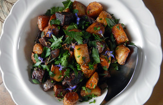 Butter-braised-fingerlings
