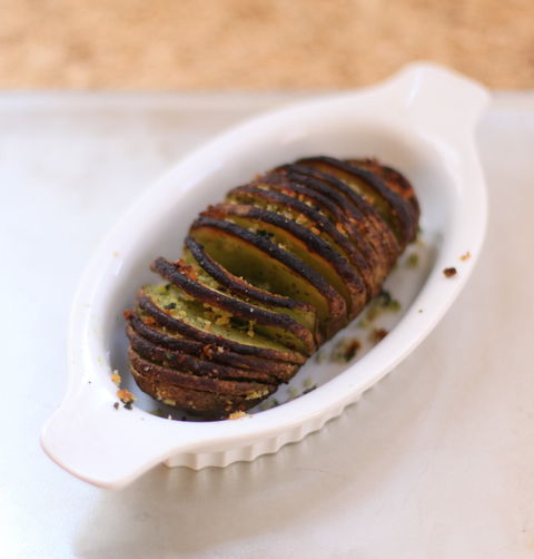 Not Your Standard Potato Hasselback