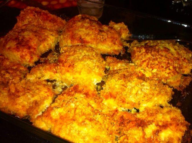 My Oh So Buttery, Crispy & Moist Ritz Cracker Brined Chicken