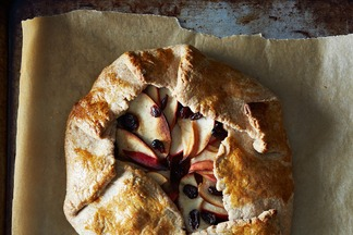 Autumn Apple and Pumpkin Galette