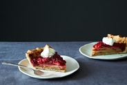 Gingered Cranberry-Pear Pie