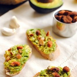 Southwest Avocado Crostini