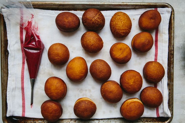 Cranberry Jelly-Filled Donuts on Food52