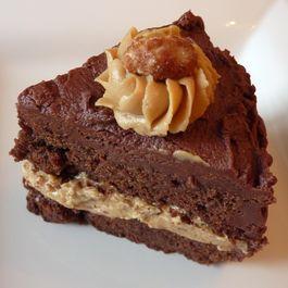Choc Full o' Peanuts Cake