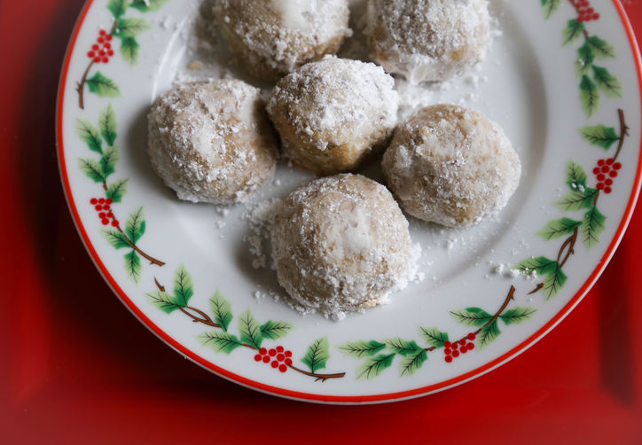 ... riff on one of December's most famous cookies, minus the gluten
