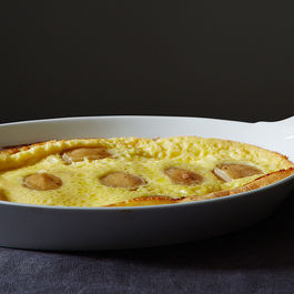 Poached Pear Clafoutis