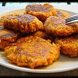 The Perfect Carrot & Parmesan Pancakes