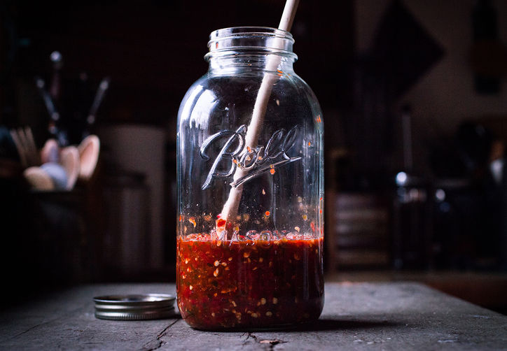 Homemade Sriracha