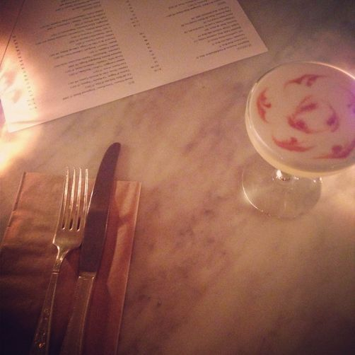 Maple Pisco Sour